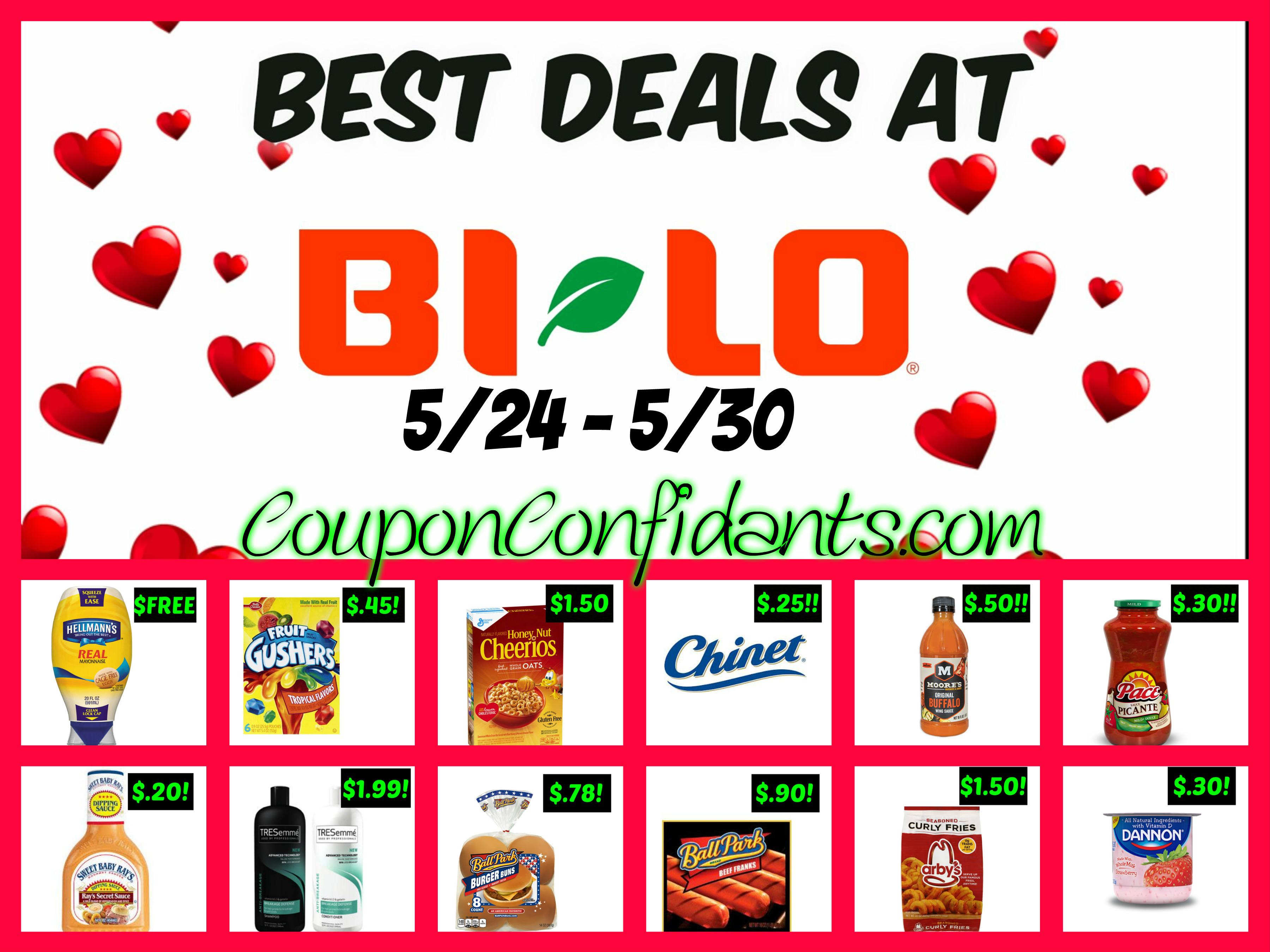 Bi-lo Best Deals 5/24/17 - 5/30/17