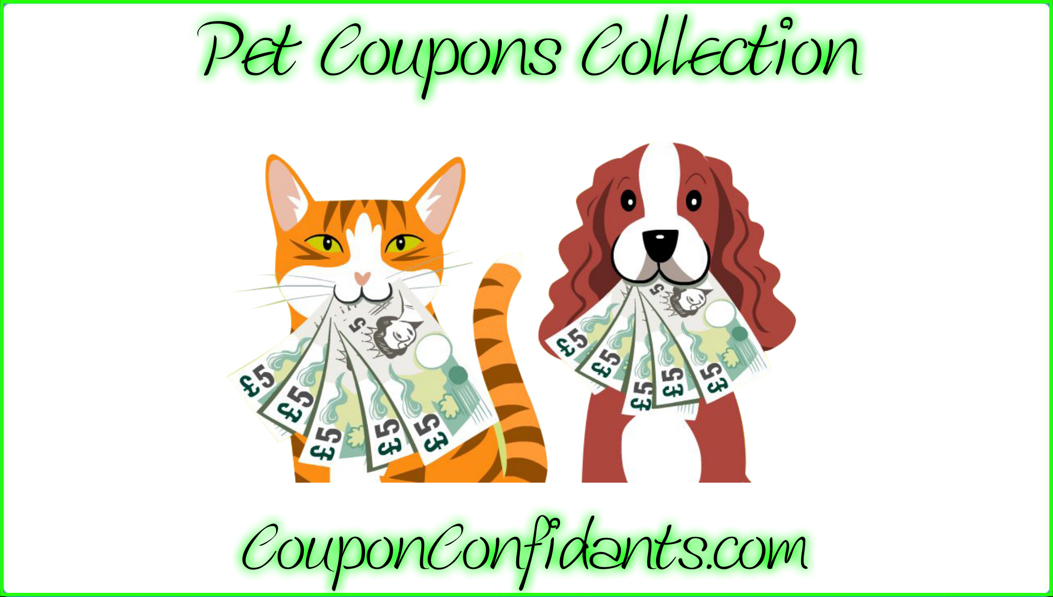Printable Pet Coupons Collection!