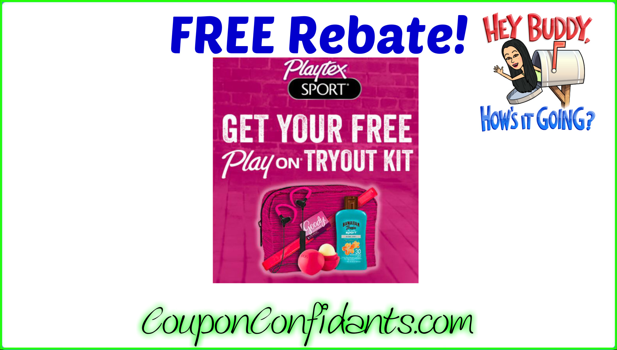 Playtex Goodie bag with purchase!!! NICE!!