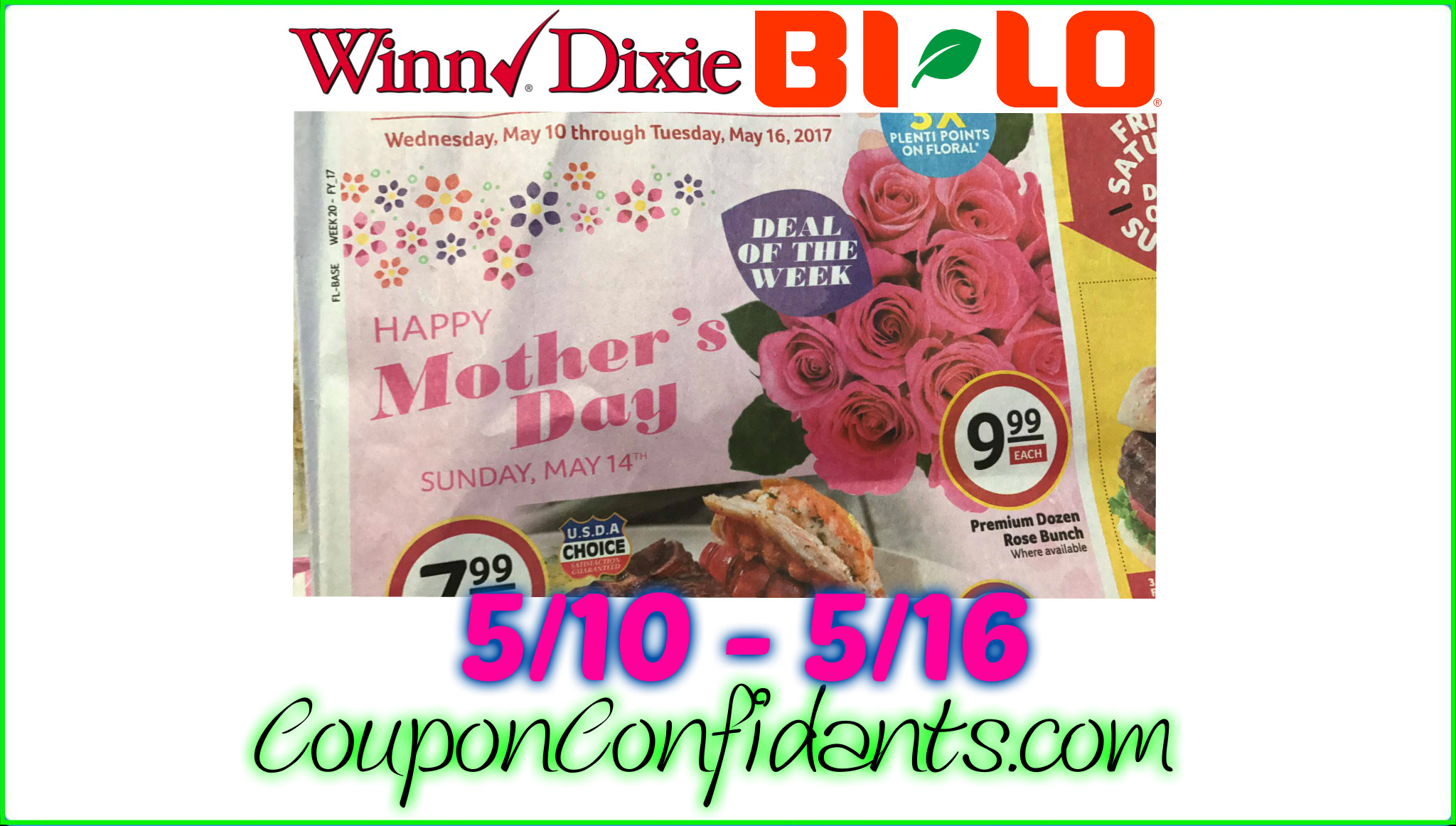 Bi-lo Best Deals 5/10 - 5/16