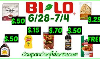 Bi-lo BEST Deals! 6/28 – 7/4!
