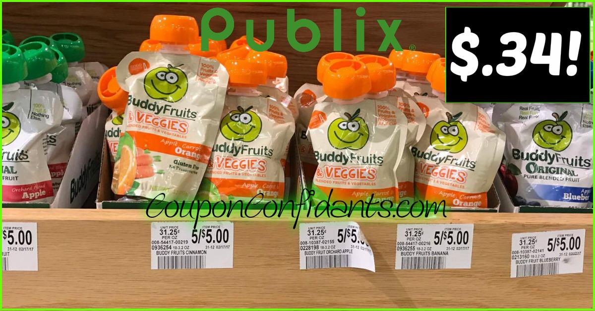Buddy Fruits at Publix!