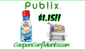 Coffee Mate Creamer STOCK UP PRICE at Publix!!