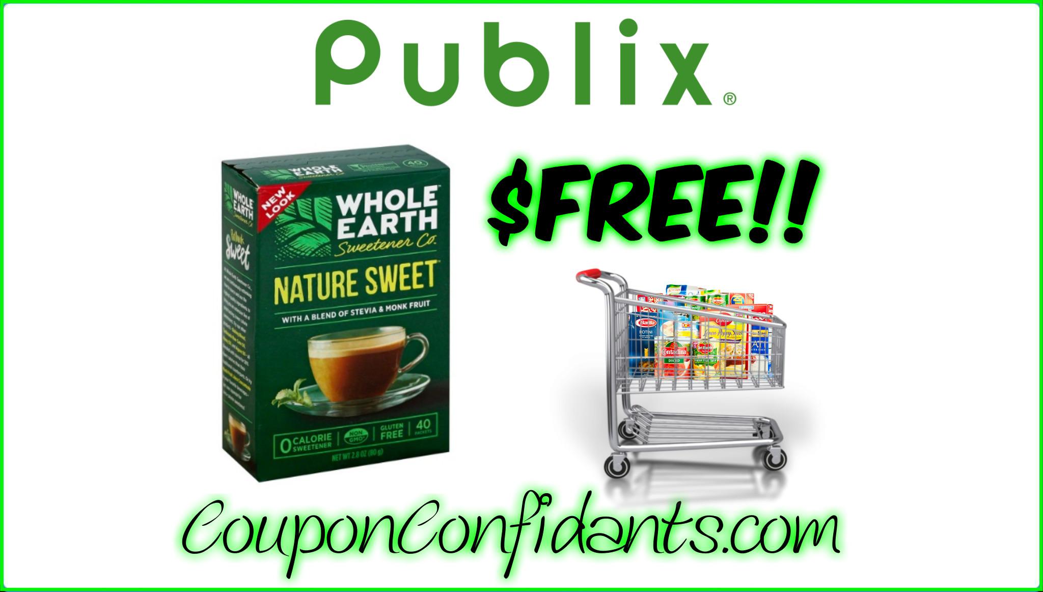 Whole Earth Sweetener FREE!!! Publix DEAL!!
