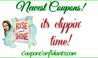 NEW Sunday Coupons are here!