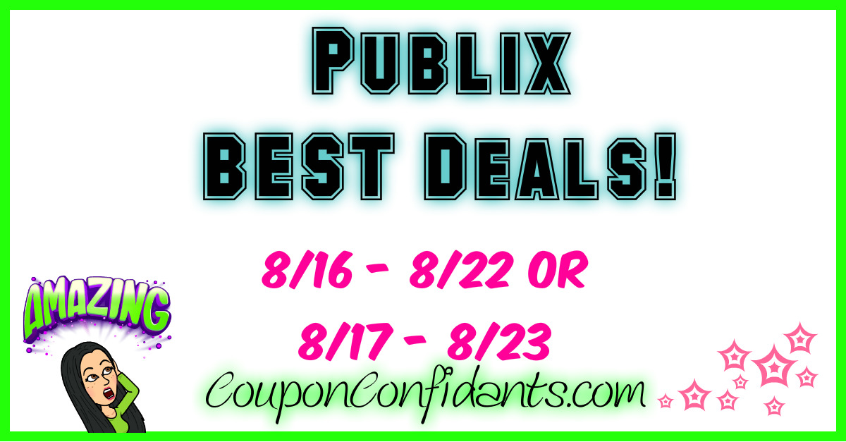 Publix Weekly Match ups 8/16 - 8/22 or 8/17 - 8/23