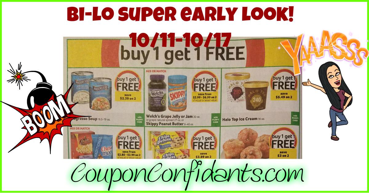 Bi-lo BEST Deals 10/11 - 10/17 *EARLY LOOK*