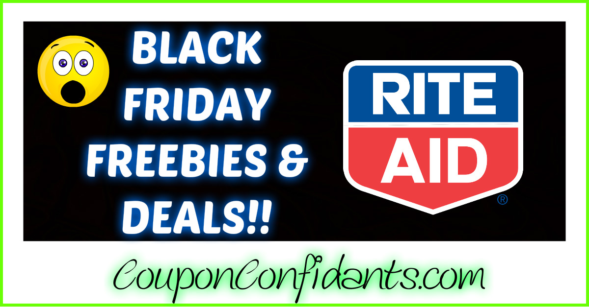 Black Friday Deals for Rite Aid Nov 23 - 25