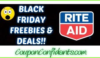 Black Friday Deals for Rite Aid Nov 23 – 25
