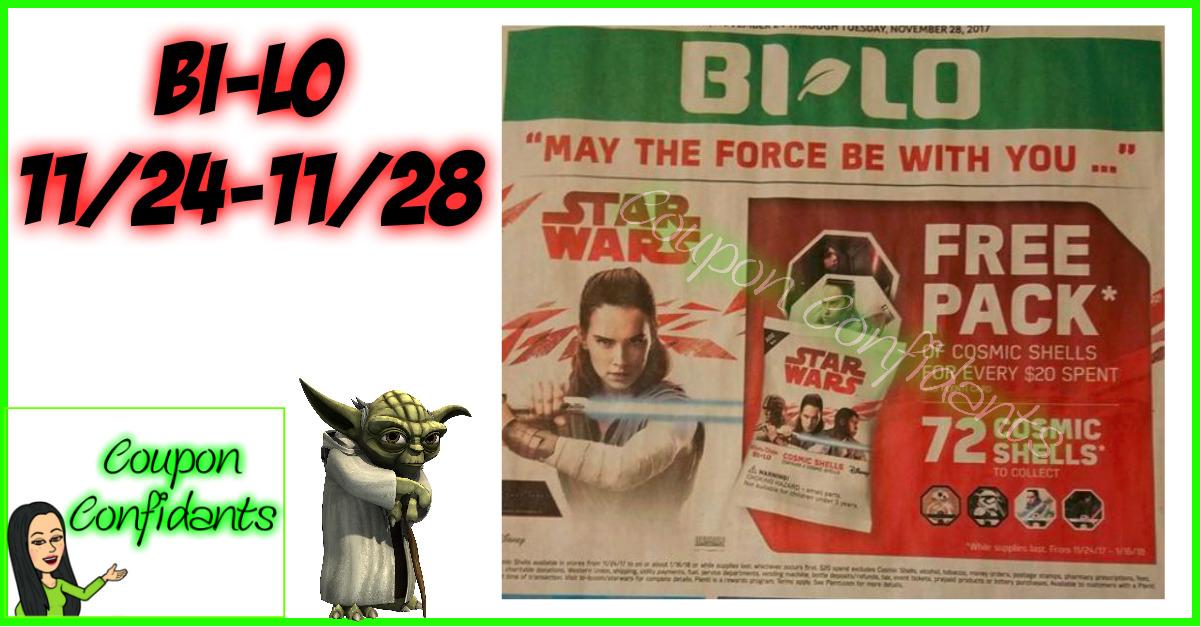 Bi-lo Best Deals 11/24 - 11/28