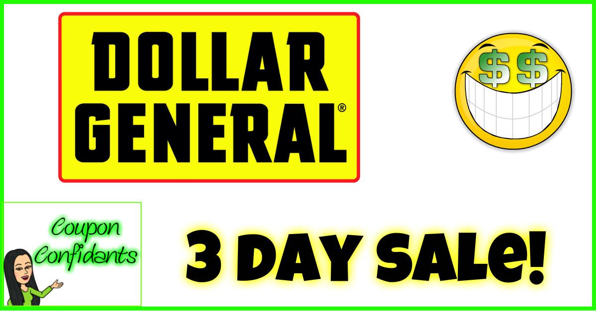 Dollar General - Nov 16 - Nov 18