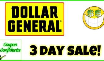 Dollar General – Dec 14 – Dec 16