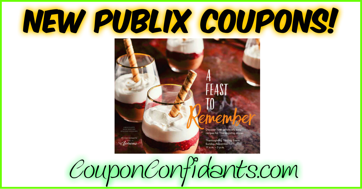 NEW Publix Booklets with Coupons & it's Printable!
