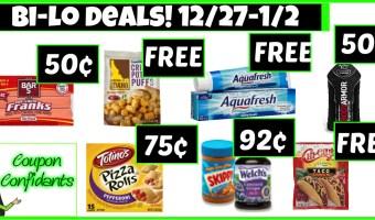 Bi-lo BEST Deals 12/27 – 1/2