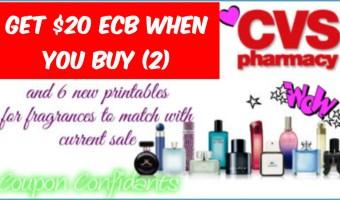 NEW Fragrance Printables to go with CVS Sale!