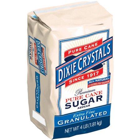 Dixie Sugar 4 lb bags for $1.50 at Bi-lo and Winn Dixie!