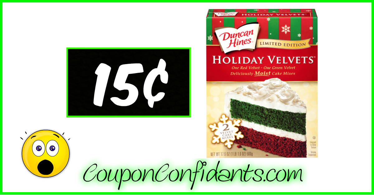 picture relating to Duncan Hines Coupons Printable identify Duncan Hines Holiday vacation Cake 15¢ at Bi-lo (Winn Dixie 65