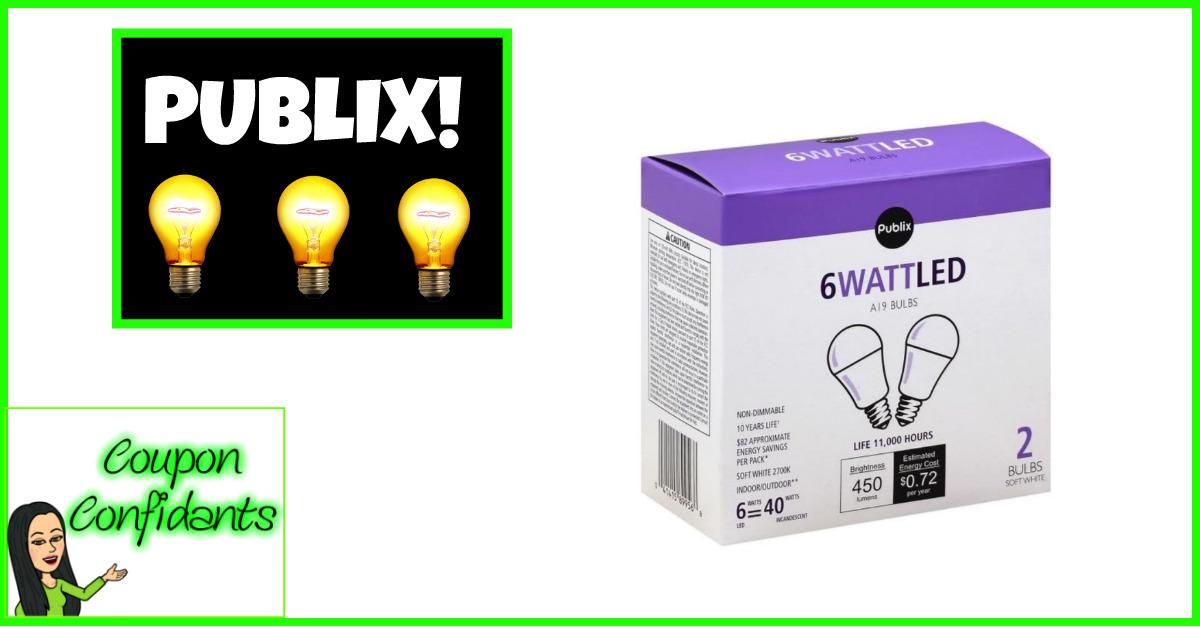 Publix Brand Light Bulbs!