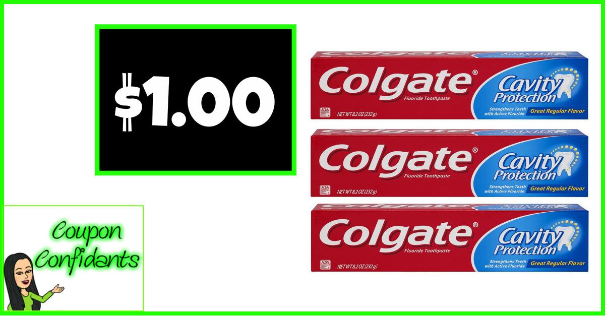 Colgate Toothpaste under a buck at Publix!