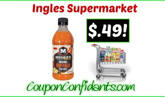 Moore's Wing Sauce only $0.49! WOW!