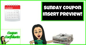 Sunday Coupon Insert Preview! July 21 2019