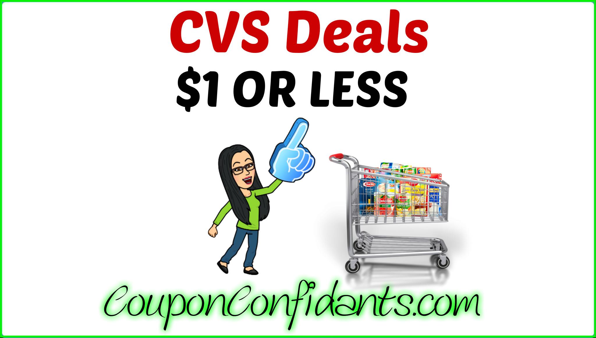 CVS $1 or less Deals!