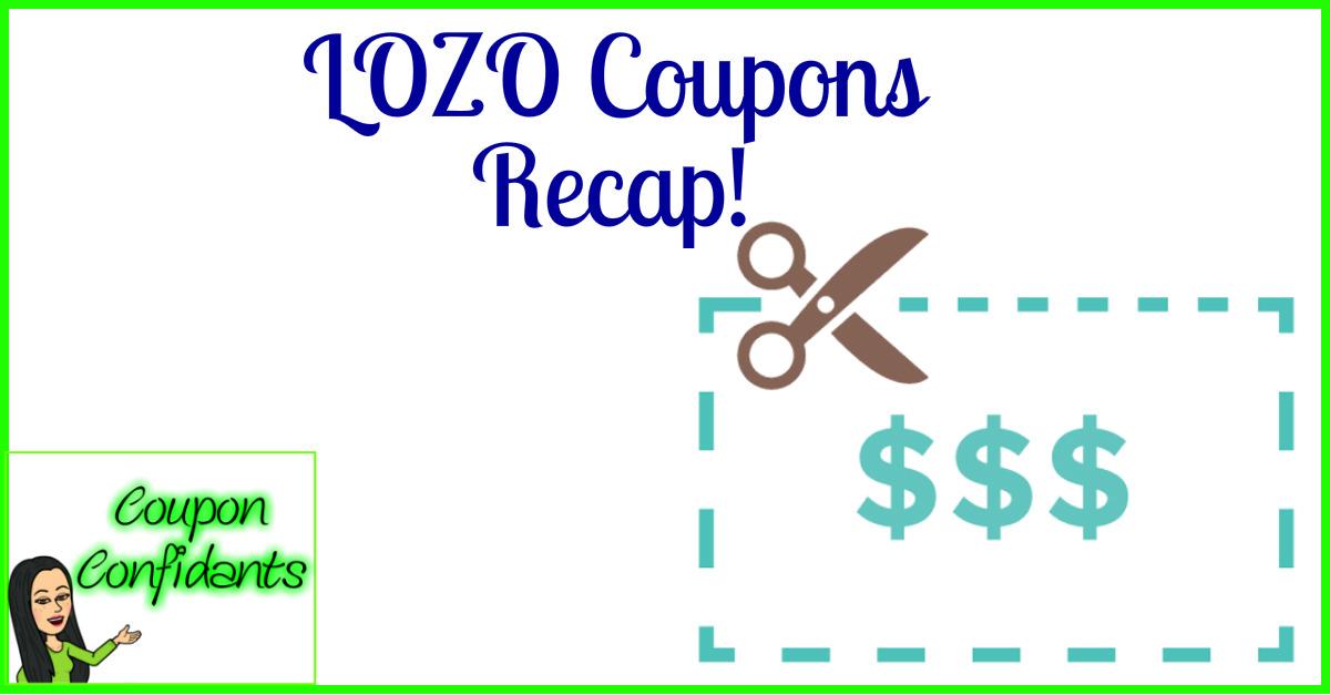 image regarding Lozo Printable Coupons identify Most current Lozo Discount codes! ⋆ Coupon Confidants