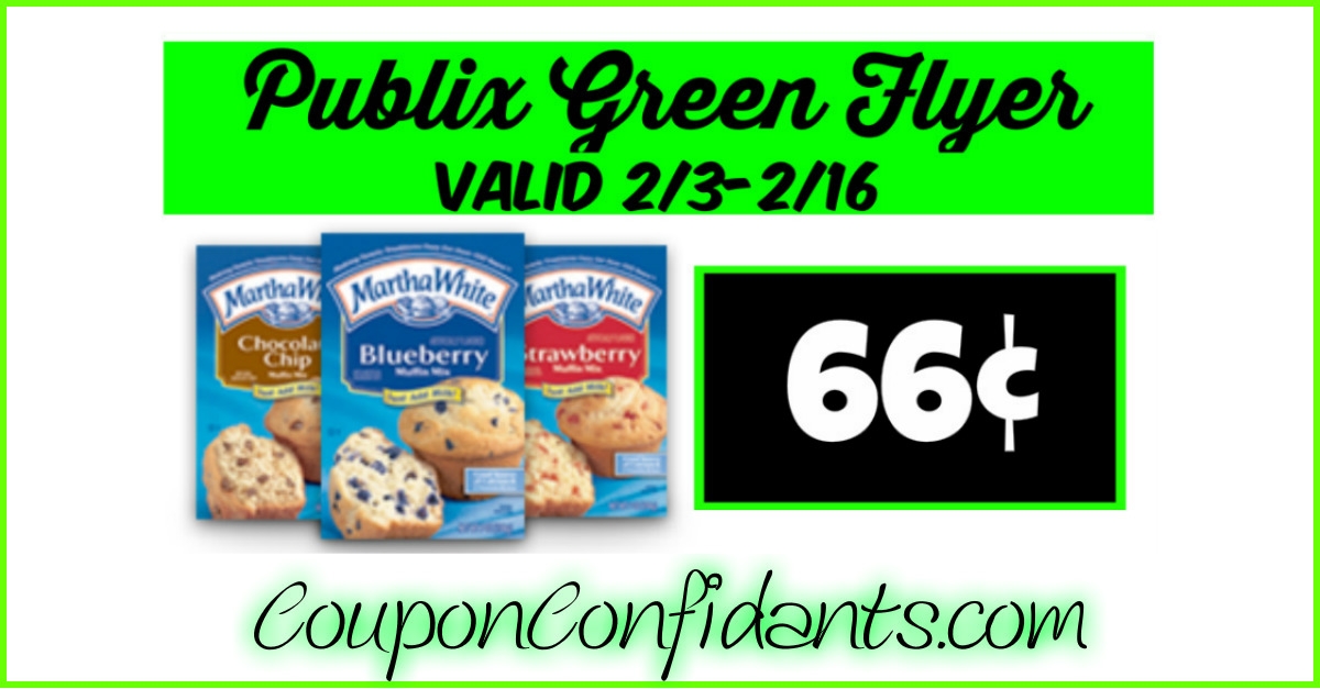 66¢ Muffin Mix at Publix!