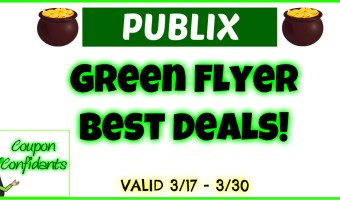 Publix Green Flyer Deals Mar 17 – Mar 30