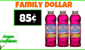 Clorox Cleaner 85¢ at Family Dollar!