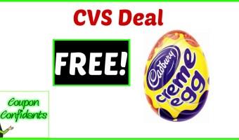FREE Cadbury Egg at CVS!