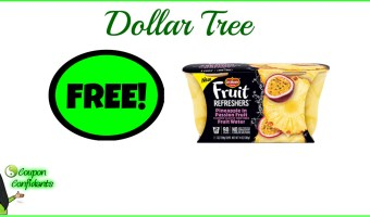 FREE Del Monte Cups at Dollar Tree!