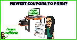 NEW Coupons to print! Happy Monday!