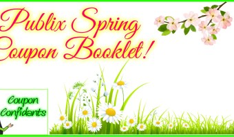 Spring is HERE and that means NEW Coupons for Publix! (Mark your calendars!)