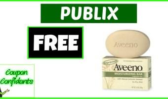 FREE Aveeno Soap at Publix!