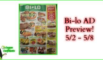 NEW Bi-lo Ad! 5/2 – 5/8