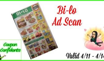 Bi-lo Ad Scan 4/11 – 4/17