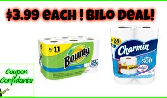 Paper Goods Weekend Sale at Bi-lo!!