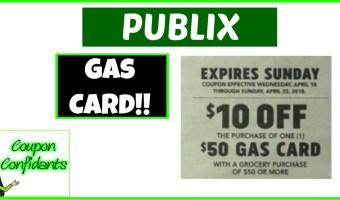 Publix Gas Card Deal Next Week!!