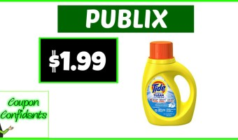 Tide Simply $1.99 at Publix NOW