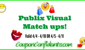 Publix Visual Match ups! 4/4 – 4/10 OR 4/5  -4/11
