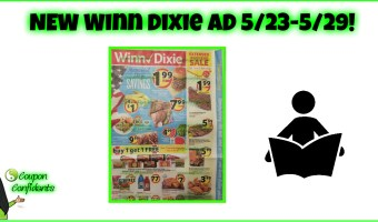NEW Winn Dixie AD 5/23 – 5/29!