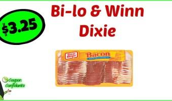Oscar Mayer Bacon $3.25 at Bilo and Winn Dixie!