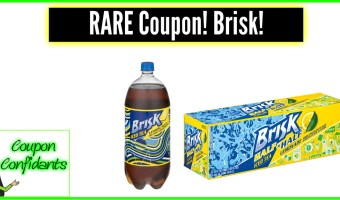 Super RARE Brisk Tea Coupon! Print NOW!