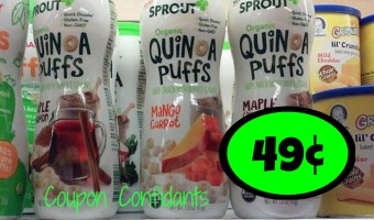 Sprout Puffs at Publix only 49¢! Ongoing Deal!