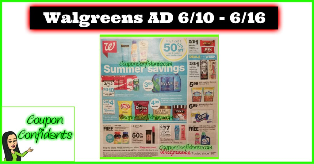 Walgreens Ad Preview June 10 – 16 2018! EARLY LOOK!! ??