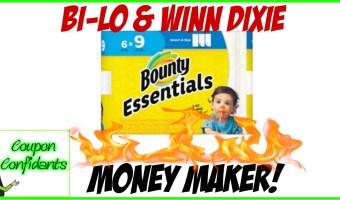 Money Maker on Bounty!! Winn Dixie and Bilo!
