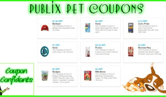 NEW Publix Pet Paws Coupons!