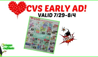 CVS Early AD 7/29 – 8/4
