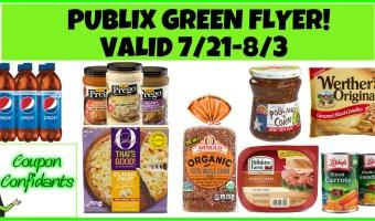 Publix Green Flyer 7/21 – 8/3